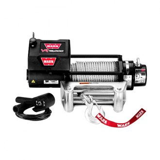 Warn® - VR Entry Level Series 12000 lbs Electric Winch with Steel Cable
