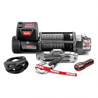 Warn® - 9.5xp 9500 lbs Self-Recovery Electric Winch with Synthetic Rope