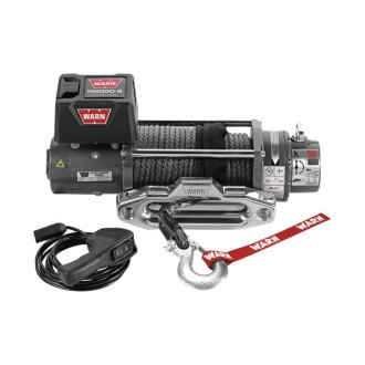 Warn® - 8000 lbs M8000-S Self-Recovery Premium Electric Winch with Spydura Rope