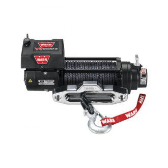 Warn® - 8000 lbs 12V DC VR8000-S Entry Level Series Electric Winch with Spydura Rope