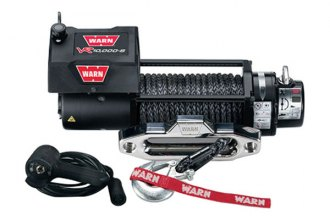 Warn® - 10000 lbs 12V DC VR10000-S Entry Level Series Electric Winch with Spydura Rope