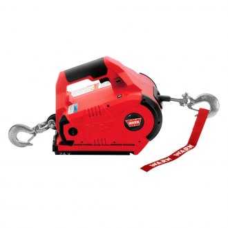 WARN® - 1000 lbs 24V DC Powered Corded Red PullzAll