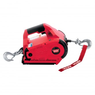 WARN® - 1000 lbs 24V DC Powered Corded Red PullzAll (International)