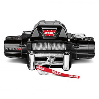 Warn® - 10000 lbs 12V DC ZEON™ 10 Electric Winch with Wire Rope