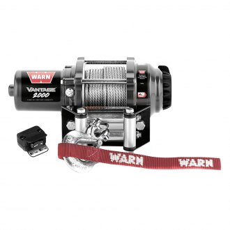 Warn® - 2000 lbs 12 V Vantage 2000 Winch with Wire Rope