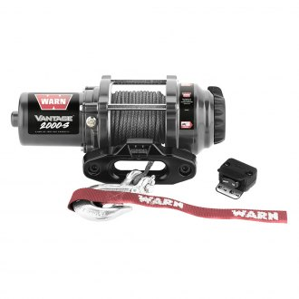 Warn® - 2000 lbs 12 V Vantage 2000-S Winch with Synthetic Rope