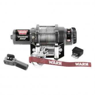 Warn® - 3000 lbs Vantage 3000 Winch with Wire Rope