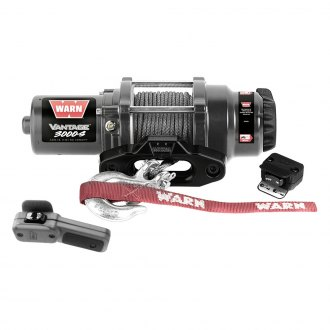 Warn® - 3000 lbs Vantage 3000-S Winch with Synthetic Rope