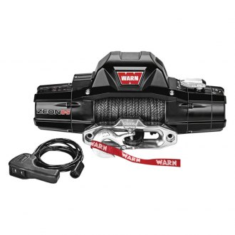 Warn® - 8000 lbs 12V DC ZEON™ 8-S Electric Winch with Spydura Rope