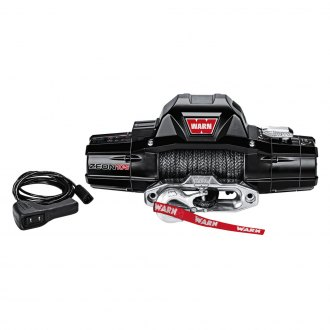 Warn® - 10000 lbs 12V DC ZEON™ 10-S Electric Winch with Spydura Rope