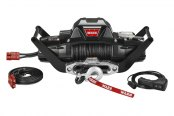 Warn® - 10000 lbs 12V DC ZEON™ 10 Multi-Mount Electric Winch Kit with Spydura™ Synthetic Rope