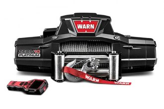 Warn® -  10000 lbs 12V DC ZEON™ 10 Platinum™ Ultimate Performance Series Electric Winch