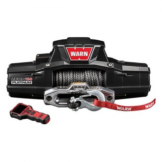 Warn® - 10000 lbs 12V ZEON™ 10 Platinum™ Ultimate Performance Series Electric Winch