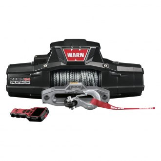 Warn® - 12000 lbs 12V DC ZEON™ 12 Platinum™ Ultimate Performance Series Electric Winch