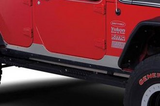 Warrior® - Heavy Duty Aluminum Rocker Body Panel