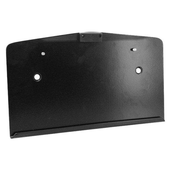 Warrior® - Center-Mounted License Plate Bracket with LED Light