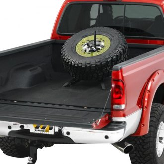 Warrior® - 8 Lug Removable Spare Tire Carrier