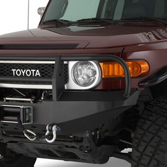 Warrior® - Full Width Front Winch HD Bumper with Brush Guard