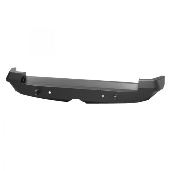Warrior® - Full Width Rear HD Black Bumper