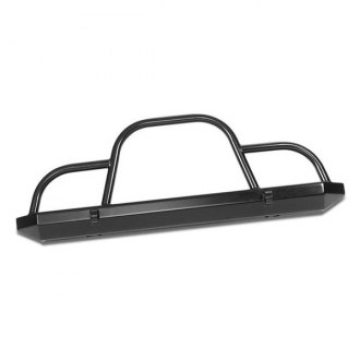 Warrior® - Rock Crawler Full Width Front HD Bumper with Brush Guard