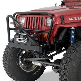 Warrior® - Front Stinger and Grille Hoop Winch Mount