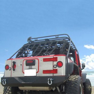 Warrior® - Heavy Duty Aluminum Center Tailgate Cover with Cut Out for 3rd Brake Light