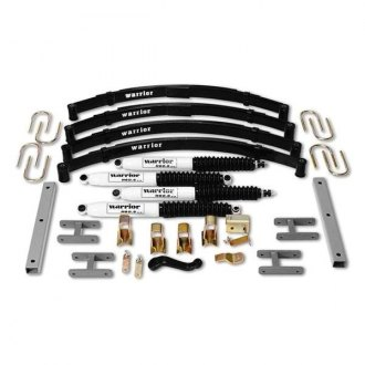 "Warrior® - 4"" x 4"" Front and Rear Suspension Lift Kit"