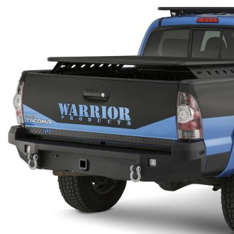 Warrior® - Full Width Rear HD Bumper with Hitch Receiver