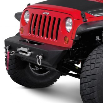 Warrior® - Stubby Front Winch HD Bumper