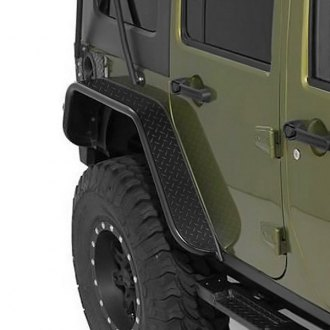 Warrior® - Rear Tube Fender Flares
