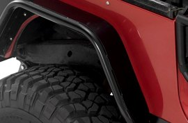 Warrior Rear Corner Cover on Jeep Wrangler Unlimited