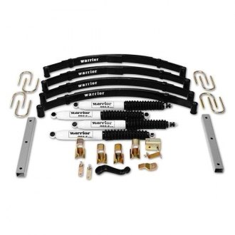 "Warrior® - 3"" x 3"" Front and Rear Lift Kit"