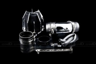 Weapon-R® 802-118-101 - Dragon Air Intake System (Polished Pipe, Gunmetal Filter Cage and Black Foam, V6)