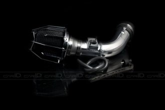 Weapon-R® 803-126-101 - Dragon Air Intake System (Polished Pipe, Gunmetal Filter Cage and Black Foam, 2.4L)