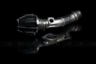 Weapon-R® 803-128-101 - Dragon Air Intake System (Polished Pipe, Gunmetal Filter Cage and Black Foam, L4)