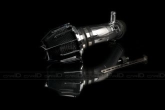 Weapon-R® 804-132-101 - Dragon Air Intake System (Polished Pipe, Gunmetal Filter Cage and Black Foam)