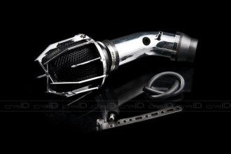 Weapon-R® 807-163-101 - Dragon Air Intake System (Polished Pipe, Gunmetal Filter Cage and Black Foam)