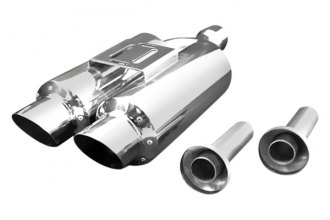 Weapon-R® - Universal R1 Twin Mini Racing Muffler