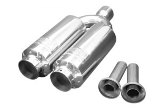 Weapon-R® - Universal G5 Twin Mini Racing Muffler