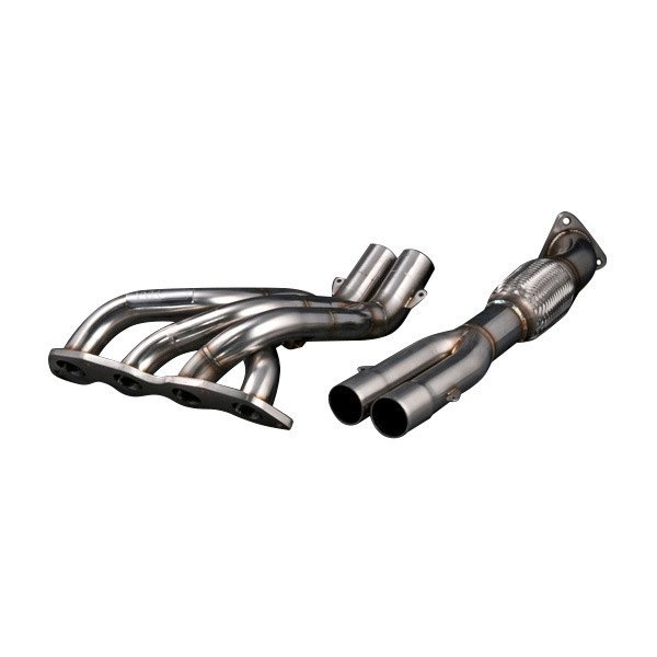Image may not reflect your exact vehicle! Weapon-R® - Stainless Steel Race Header