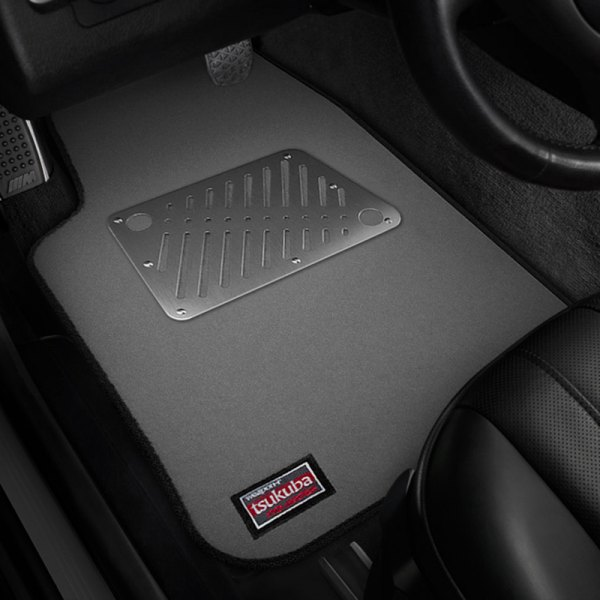 Image may not reflect your exact vehicle! Weapon-R® - Tsukuba 1st & 2nd Row Gray Floor Mat Set