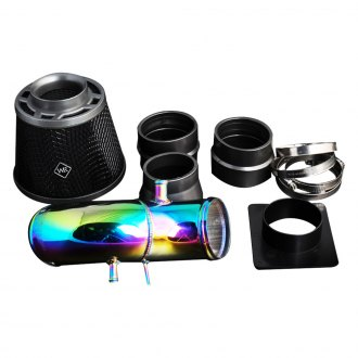 Weapon-R® - Secret Weapon Neo-Ti Air Intake System (Neo Ti Pipe, Gunmetal Filter Cage, Black Foam Filter)