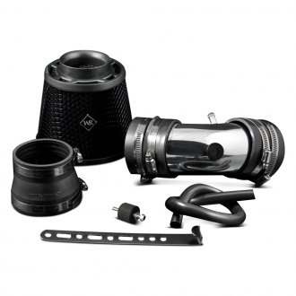 Weapon-R® - Secret Weapon Air Intake System (Polished Pipe, Gunmetal/Black Foam Filter)