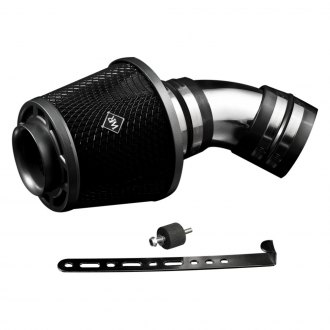 Weapon-R® - Secret Weapon Air Intake System (Polished Pipe, Gunmetal Filter Cage, Black Foam Filter)