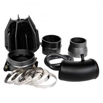 Weapon-R® - Stealth Dragon Air Intake System (Flat Black Pipe, Gunmetal Filter Cage, Black Foam Filter)