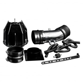 Weapon-R® - Dragon Air Intake System (Polished Pipe, Gunmetal Filter Cage, Black Foam Filter)