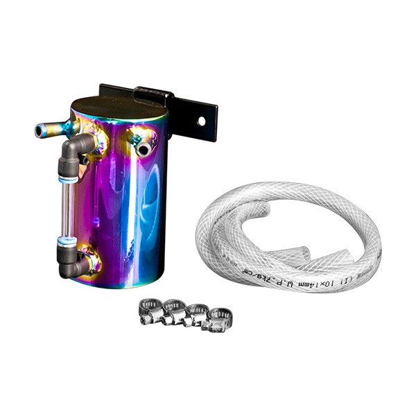 Weapon-R® - Neo-Titanium Finish Aluminum Oil Catch Tank