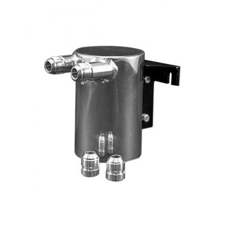 Weapon-R® - Aluminum Oil Catch Tank - 2x10 AN Fitting
