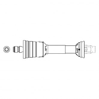 Weasler® - Category 6 CV Driveshaft