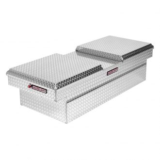Weather Guard® - Wide Dual Lid Gull Wing Crossover Tool Box